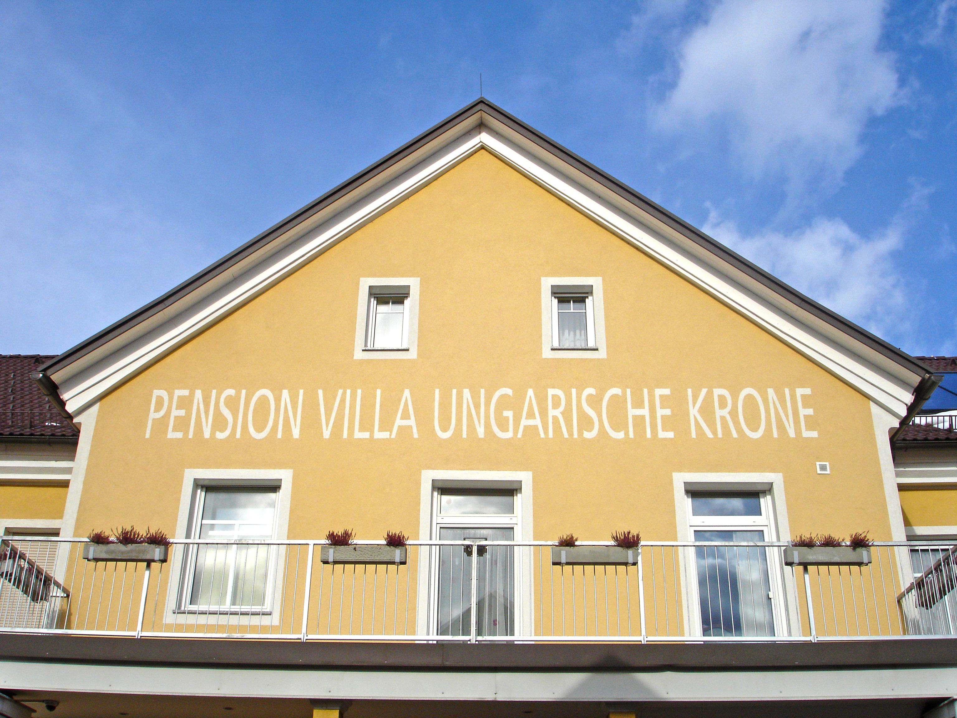 Haus Villa Ungarische Krone